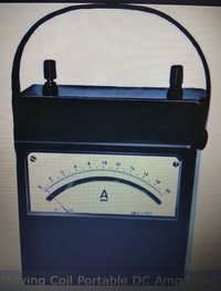 MOVING COIL TYPE DC AMP METER