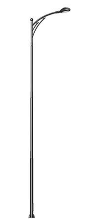 唯一胳膊街灯杆