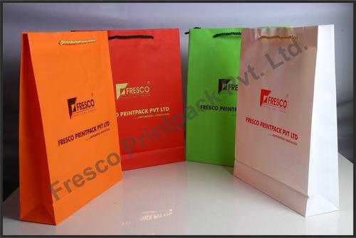 Multi Colors Designer Promotional Paper Bag