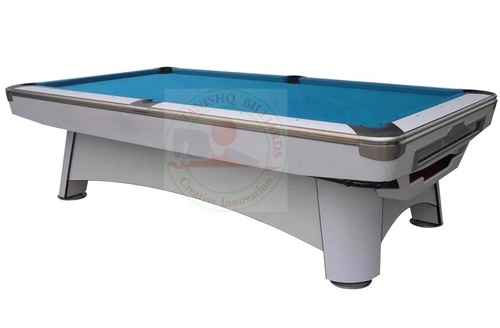 Imported White Pool Table