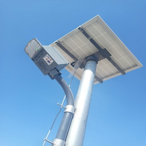 34 watt solar street light