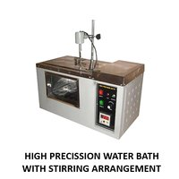 High Precission Water Bath (With Stirring Arrangement)