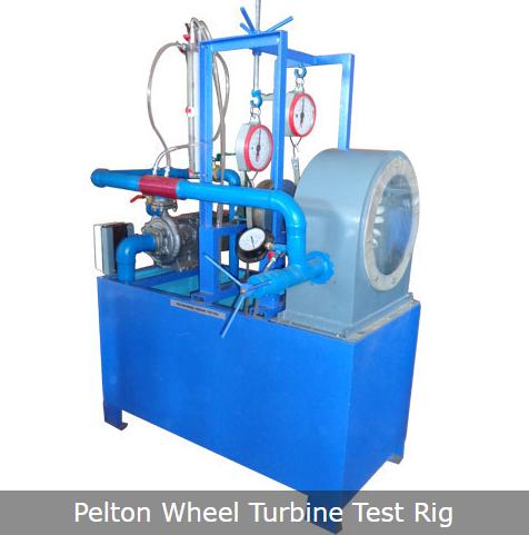 Pelton Wheel Turbine Test Rig