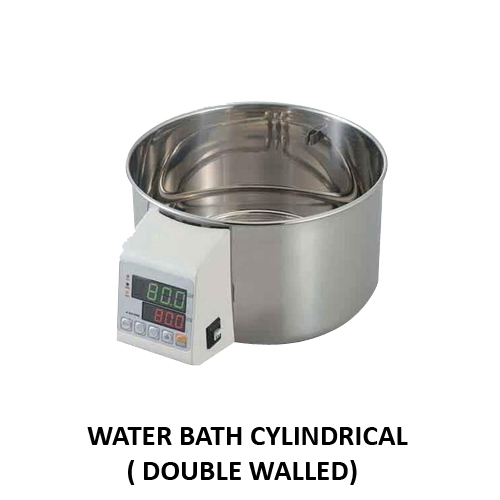 Water Bath Cylindrical (Double Walled)