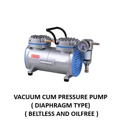 Vacuum Cum Pressure Pump (Diagram Type)
