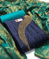 Fancy Unstitched Ladies Dress