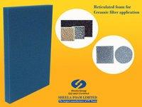 Reticulated Ceramic Filter Foam