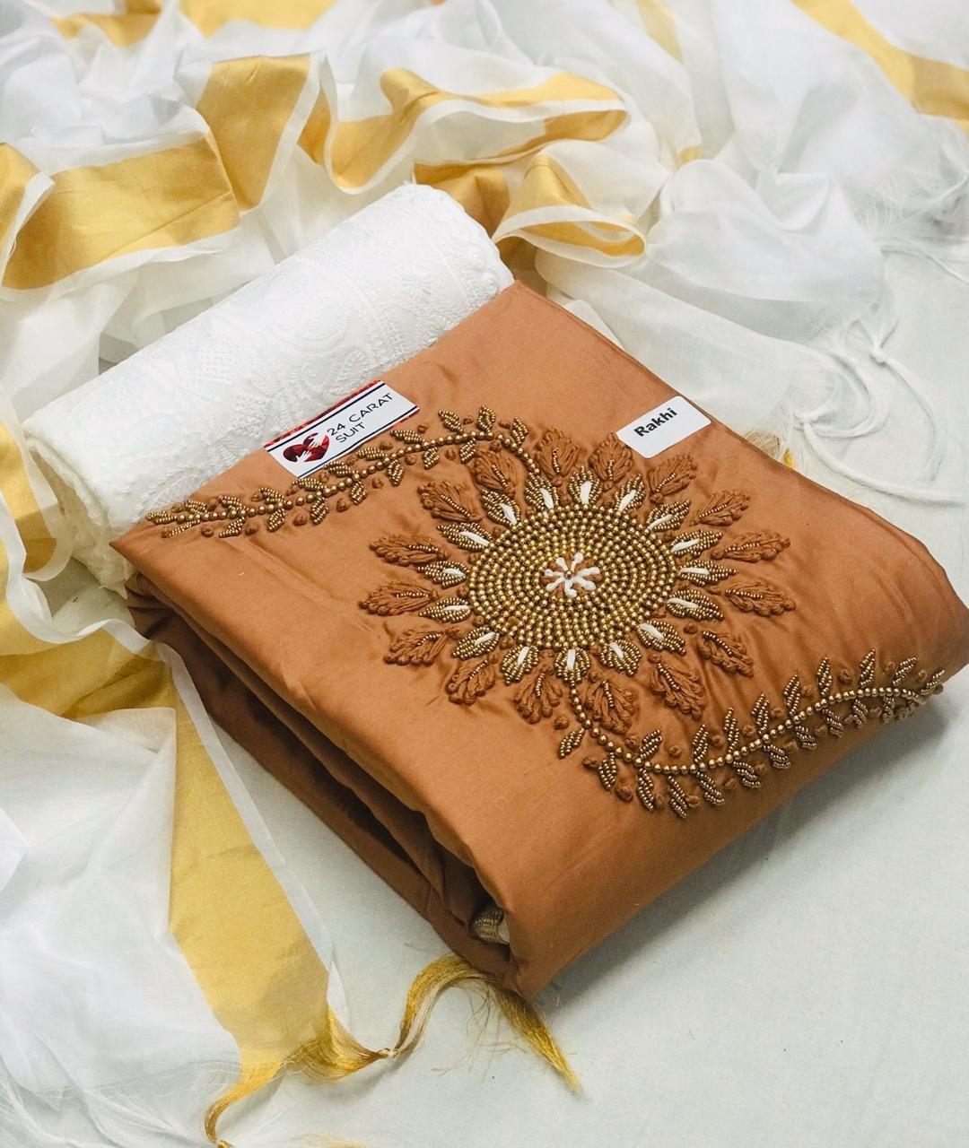 Fancy Hand Work Dress material