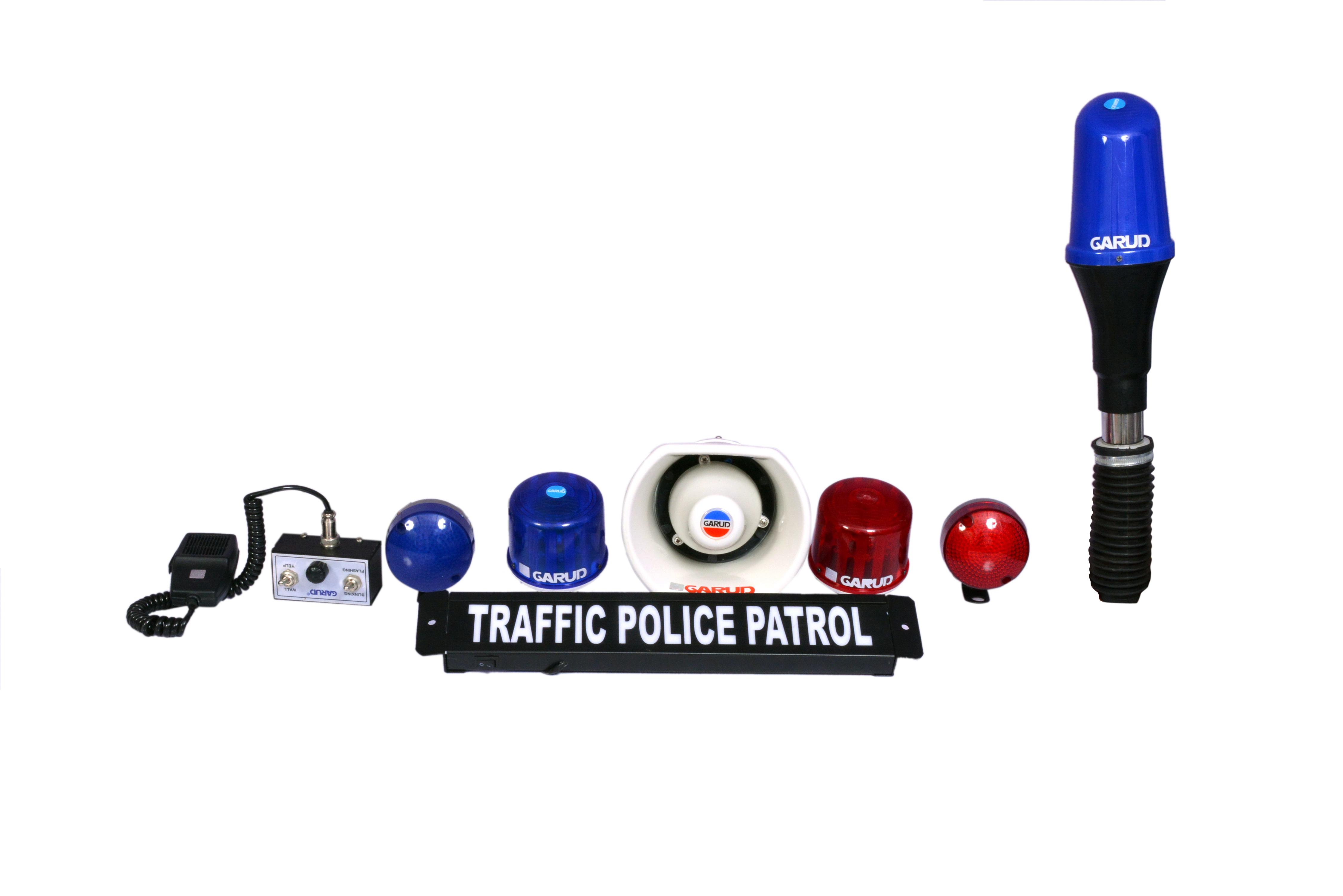 Police Rider Bike Light