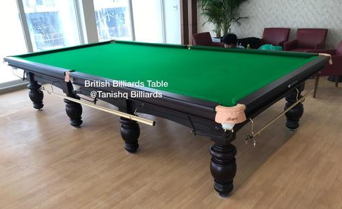 Steel Block Cushions Snooker Table