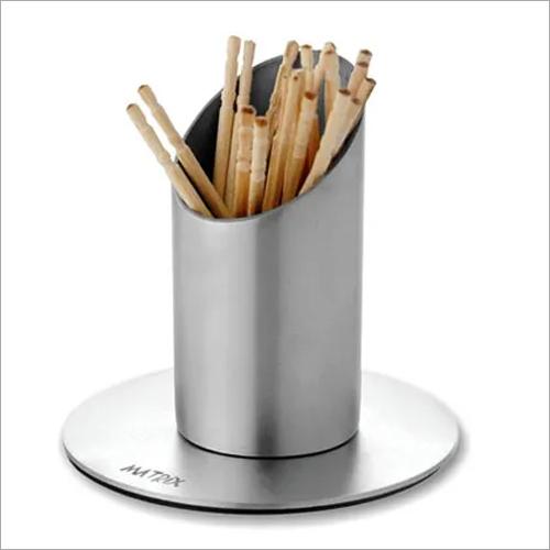 Tooth Pick Straw Holder & Bud Vase SS Lipstick design