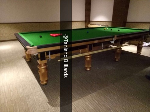 Steel Block Billiard Table