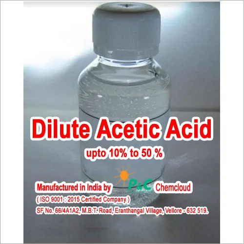 Industrial Dilute Acetic Acid