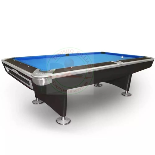 Blue Pool Table