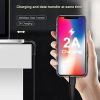 pTron Gravita 2A Micro USB Charging & Data Sync USB Cable - (Black)