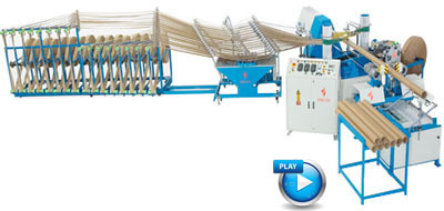 Reel Stand Machine For Paper Core Machine