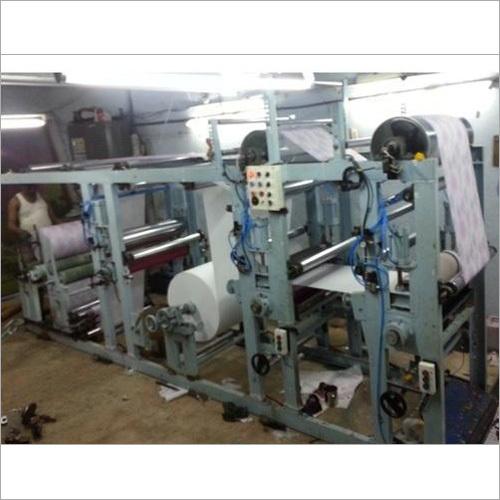Multi Colors Non Woven Printing Machine