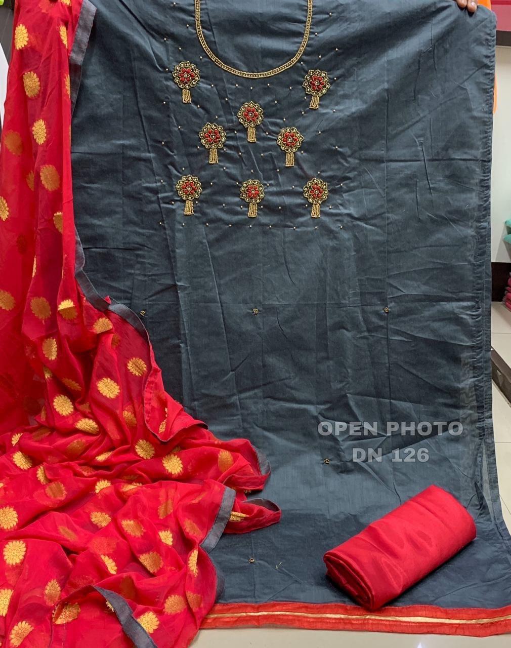 Chanderi cotton Dress