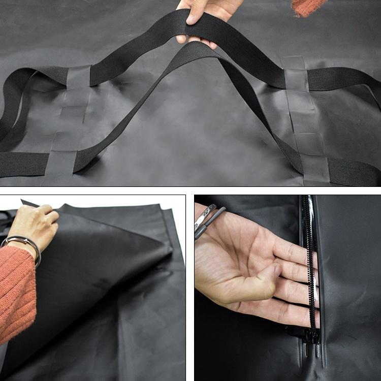 Human Remains Peva Body Bag Anti-Leak Proof Mortuary Body Bags Waterproof Corpse Bag For Dead Bodies