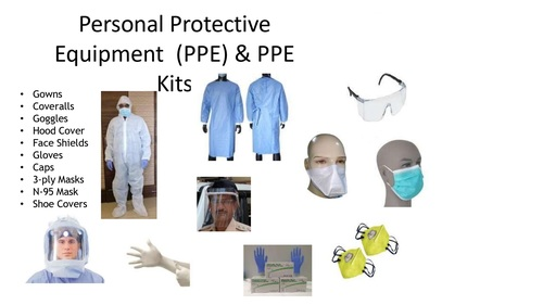 Personal Protective Equipment And PPE Kit