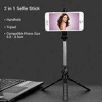 pTron Glam Bluetooth Selfie Stick Tripod Stand 76cm in Full Length