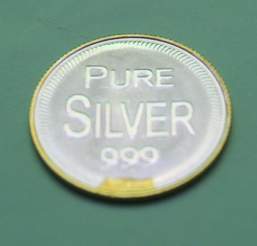 Pure Silver Coin