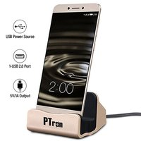 pTron Cradle Type-C Charging & Data Sync Dock Stand for Smartphones