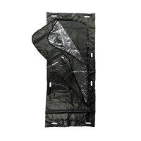 Medical waterproof dry Black/White funeral corpse dead body bag