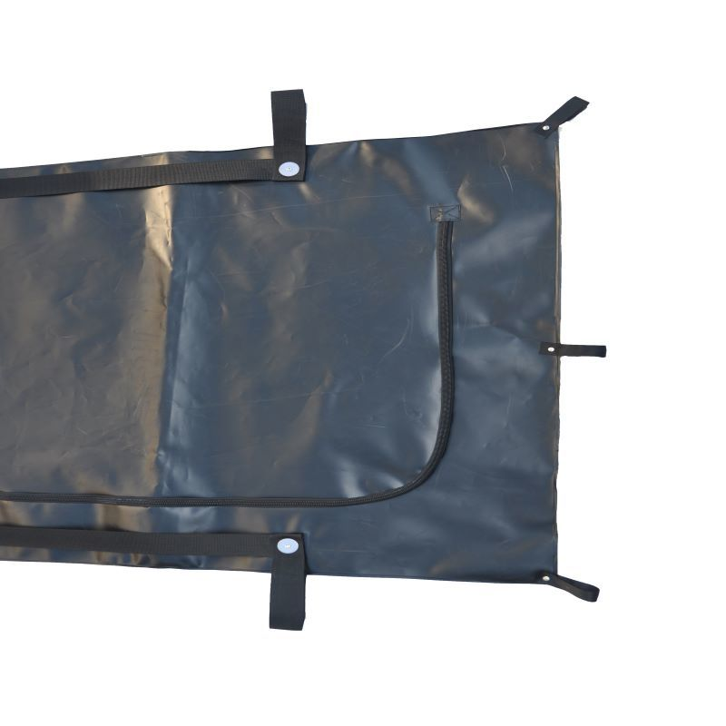 MORTUARY BAG 12 belt HANDLE - ADULT SIZE Dead body bag