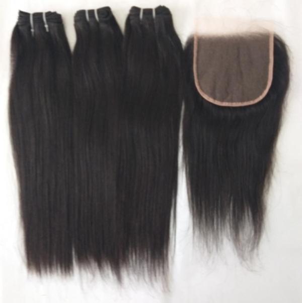 Raw Unprocessed Straight Hair