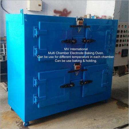 Multi Chamber Electrode Baking Oven