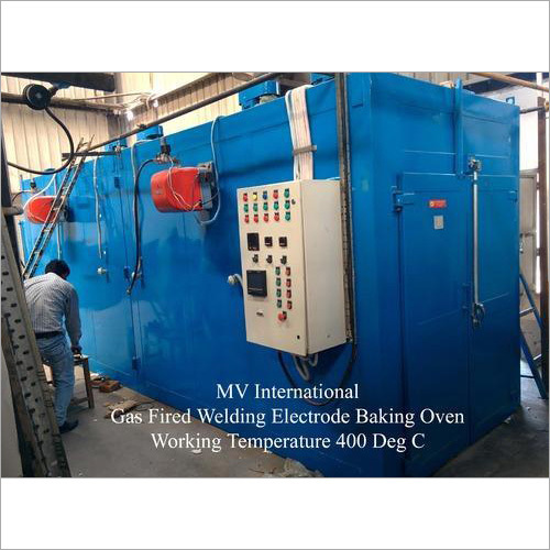 Gas Fired Welding Electrode Baking Oven
