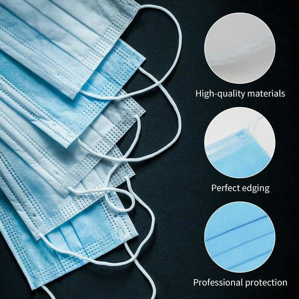3 Ply Disposable Medical Face Masks