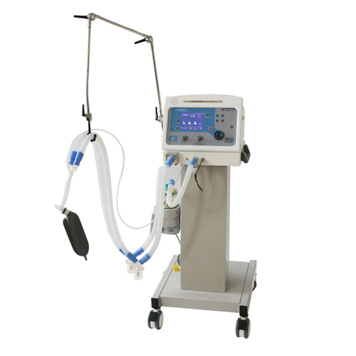 Medical ventilator for ICU room