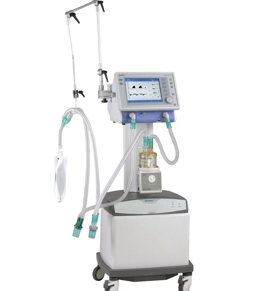 ICU Oxygen Ventilator ISO/TUVcertified