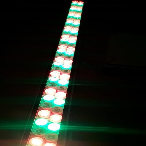 100 watt Linear multi color led light