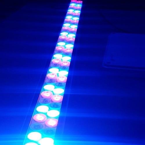 120 Watt linear multi color led light
