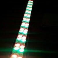 50 Watt multi color led light