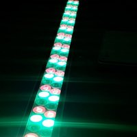 100 Watt multi color led light