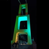 120 watt multi color led light