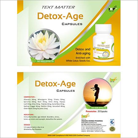 Detox Age Leaflet