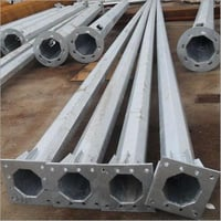 Galvanised GI Steel Poles