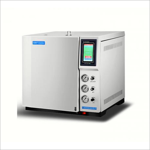 Gas Chromatograph Test Quality And Purity Of The Solvent