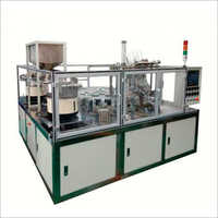 Automatic Rotary Pouch Spout Inserting And Sealing Machine