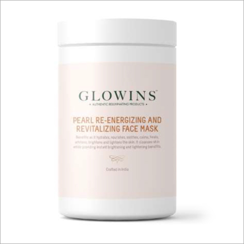 Pearl Re-Energizing And Revitalizing Face Mask