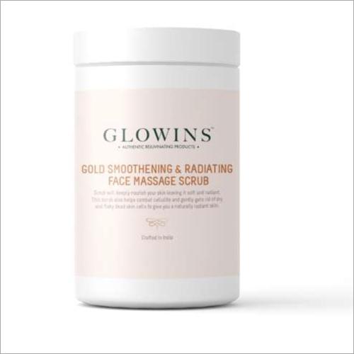 Gold Smoothening And Radiating Face Massage Scrub