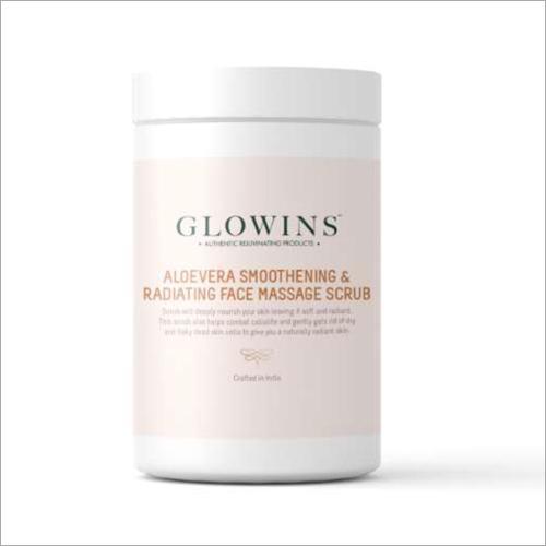 Aloevera Smoothening And Radiating Face Massage Scrub