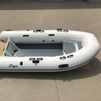 Liya 2.7 -4.8M Open Floor RIB (Aluminum Hull inflatable boat)