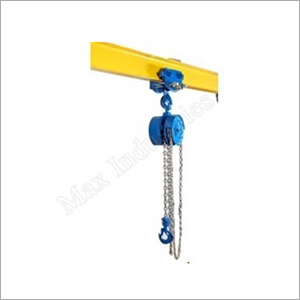 Chain Pulley Block with Pull Push Trolley