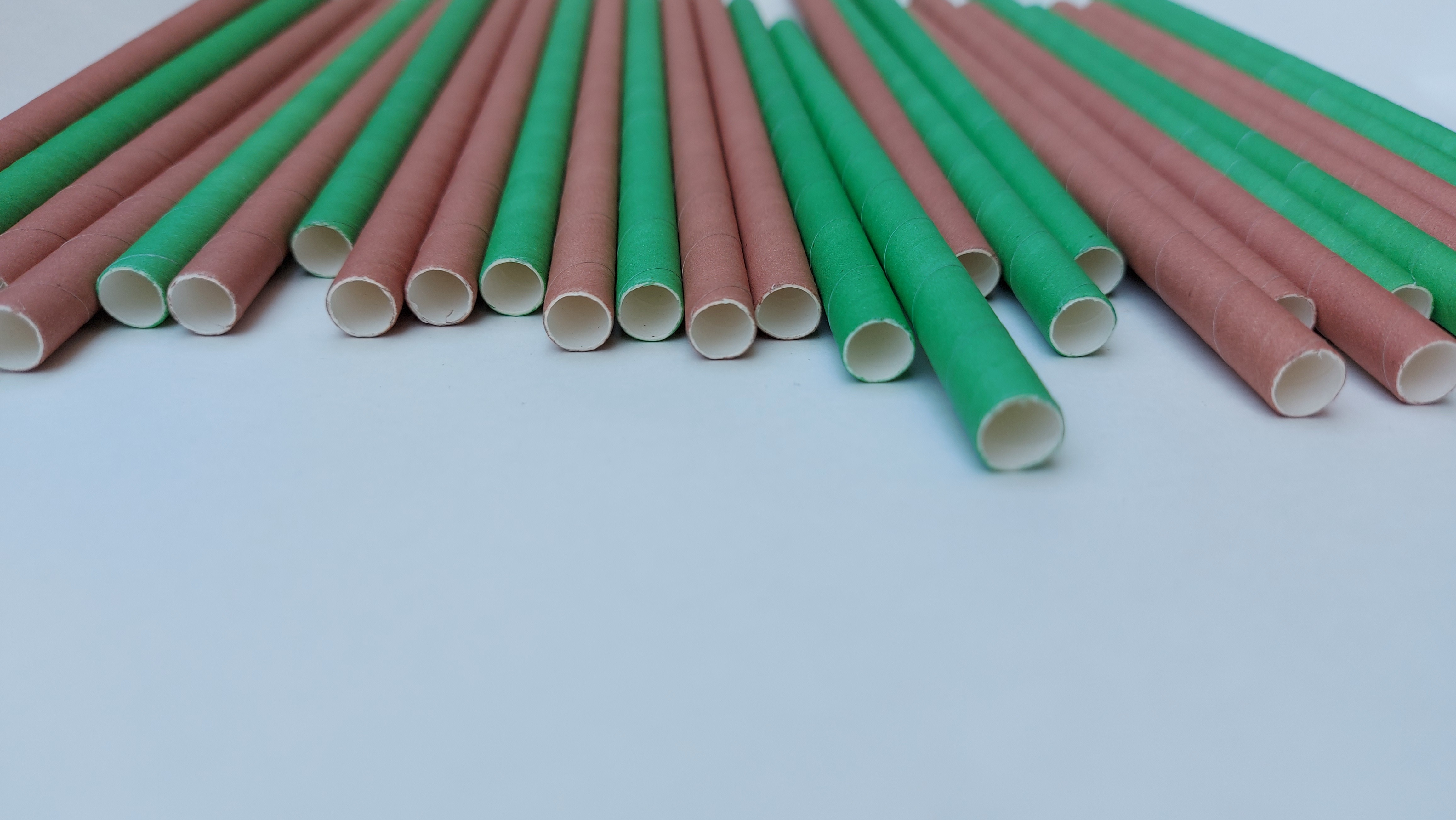 Full Color Paper Straw